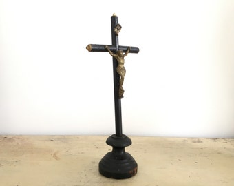 Former small wooden crucifix.