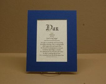 Name Origin & Meaning 8x10 Parchment Paper