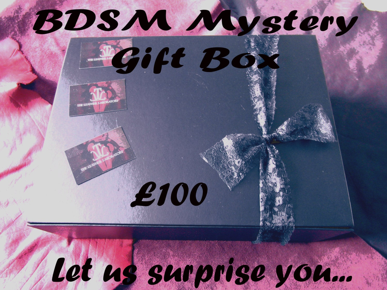 BDSM Sexy Gift Box Sexy Mystery Gift Surprise Box BDSM