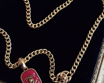 Rare vintage gripoix for chanel necklace
