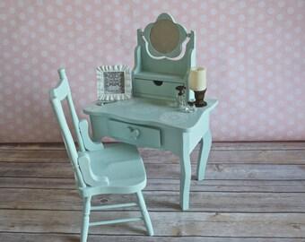 doll vanity desk for American Girl