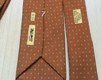 Seven, handmade silk tie