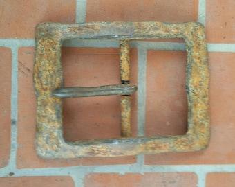 Belt buckle, buckle, buckle rusty look, antique,