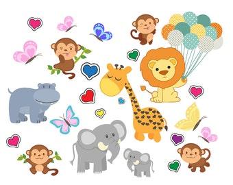 Monkey clipart   Etsy