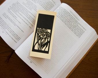 Bookmark // Japanese papercut // Kiri-e //Japanese art