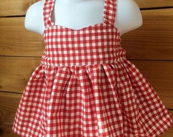 Gingham Toddler Dress