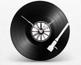 Vinyl Record Clock Two layer // DJ // Reading head