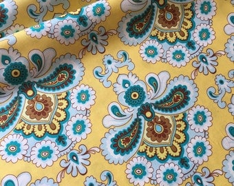 Amy Butler Belle French Wallpaper PWAB111 Mustard (yellow) By the Yard (BTY)
