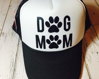Dog mom, dog mommy, dog mom hat, dogmom apparel, dog gifts, pet owner gift, gift for pet owners, dog lovers