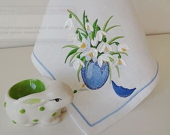 Machine Embroidery Design - Easter bouquet (2 in 1)