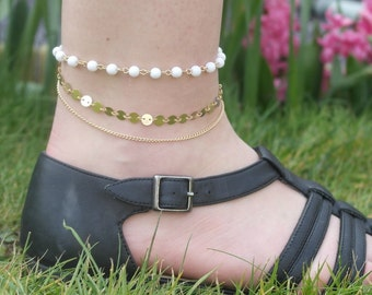 Pure innocence anklet
