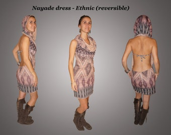 Nayade dress - Beige / Ethnic
