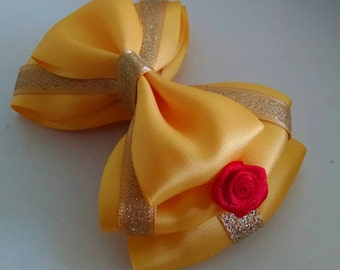 Belle Themed bow