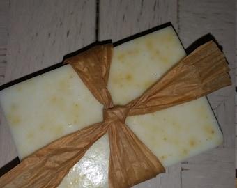Orange Peel Goat Milk Soap