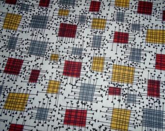 Atomic Era, Vintage Cotton Fabric