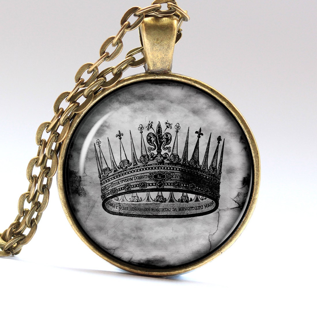 crown necklace jewelry king pendant pendants by