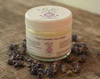 Vegan Lavender Face Lotion
