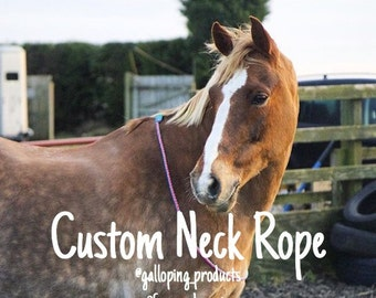 Custom Neck Rope // Read Description For Ordering Instructions
