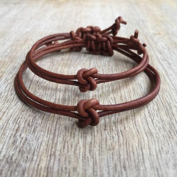 couples bracelets his and her bracelet knot couple bracelet