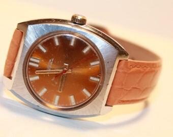 Soviet vrist watch for men Raketa Rocket.USSR mechanical watch.Watch for men Raketa 1978-80s!!!