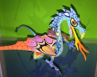 Alebrije - Dragon by Zeny Fuentes