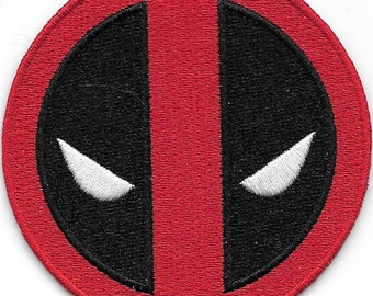 Deadpool  icon iron on patch