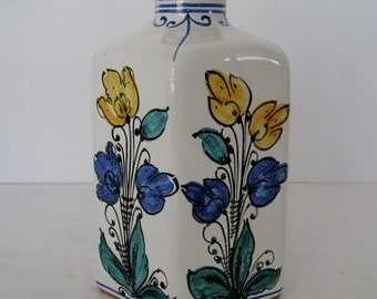 Hungarian Pottery Bottle Vase
