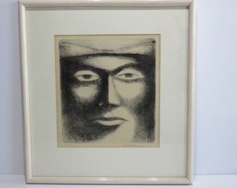 Black And White Lithograph By Paul Feinman 4/8.