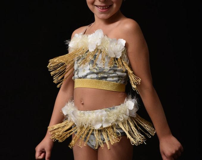 jazz Dance Costume, fringe Dance Costume, kids jazz Dance costume, solo Dance Costume, jazz dance costume with fringe, group jazz costume