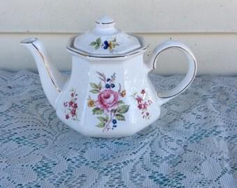 English Windsor Floral Teapot