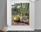Funny Gift for Boyfriend, Desert Art, Funny Gift for Him, Geology Print, Funny Gift for Men, Funny Printable, Funny Wall Art, Pyrite, Yucca