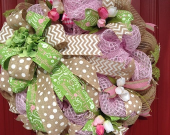 SALE!!  20% OFF Mothers Day Wreath