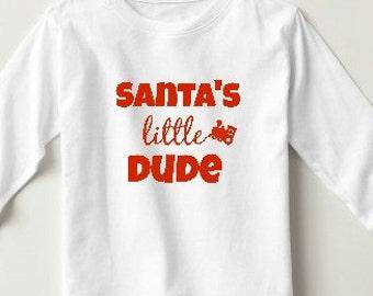 Santa's Little Dude Tee