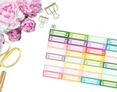 Appointment Reminder Stickers -- Matte Planner Stickers