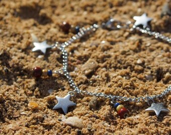 Stars and Stripes Anklet