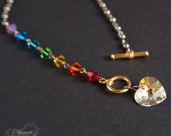 "Necklace ""The 7 chakras"""