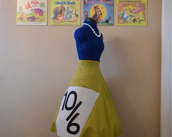 Mad  Hatter Cosplay Skirt