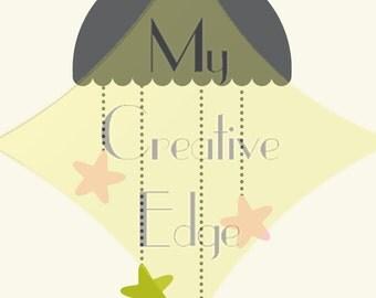 Nursery Art - Star Mobile