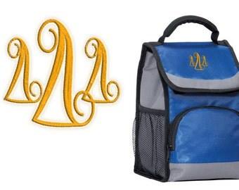 Delta Delta Delta Lunch Cooler Bag