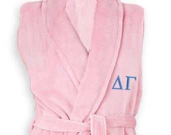Delta Gamma Letter Bathrobe