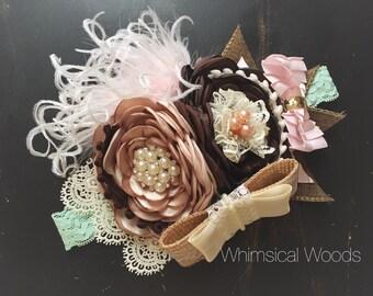 M2M Sassy Chic Boutique Fall Cake Annalynne Headband