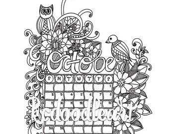 Colouring pages Etsy