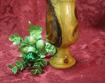 Unique Wood Goblet