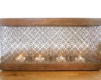 Moroccan Inspired tea-light box holder