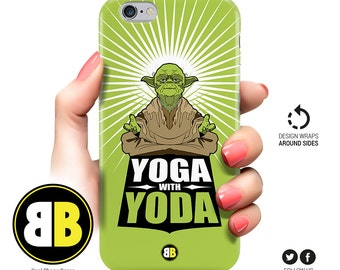 iPhone 6 Case Yoda, iPhone 6s, iPhone 6 Plus, iPhone 5 Case, iPhone 5s, iPhone 5c, Samsung Galaxy S6 Star Wars, S5, S4, S3, Geek Phone Cases