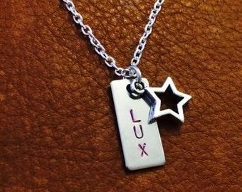 League of Legends Necklace - Lux - Star Charm