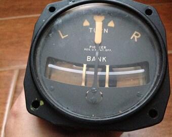 1956 Airplane Turn Coordinator