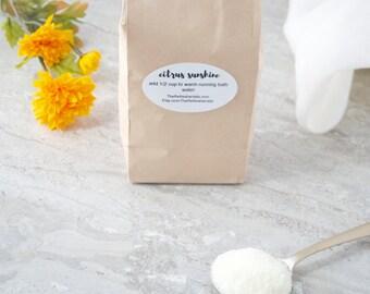 Citrus Sunshine Bath Salt (2lb)
