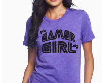 GAMER Girl Women's Tee Shirt - Gamer Girl T-Shirt