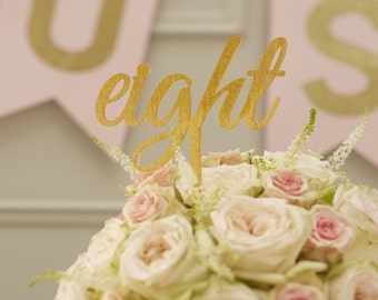 Metallic Silver or Gold Table Numbers 1-12 Wedding Decoration Centrepiece